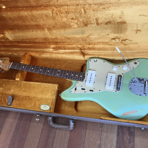 2006 Fender USA 62 reissue Jazzmaster with cool relic