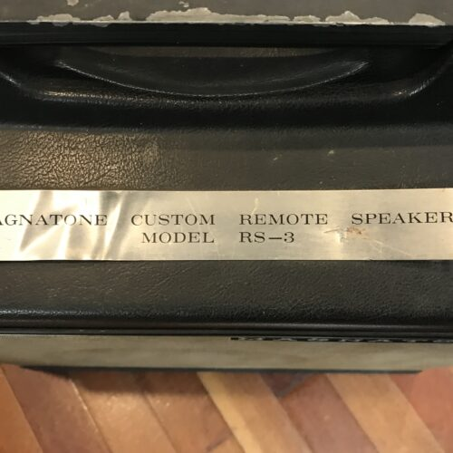60s Magnatone Model RS 3 extension speaker 12 inch very rare