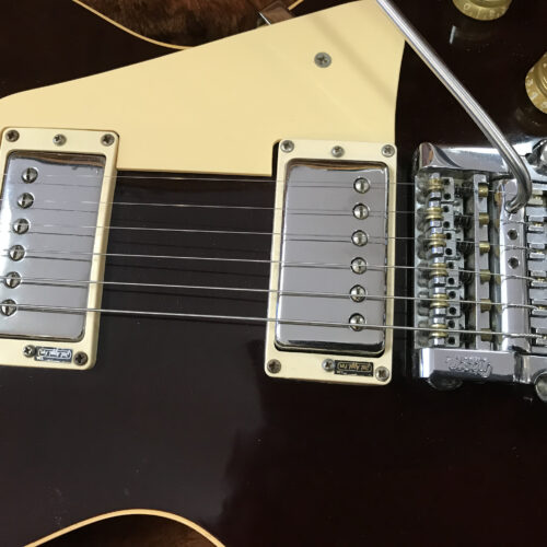 1983 Gibson Les Paul Standard with factory tremolo