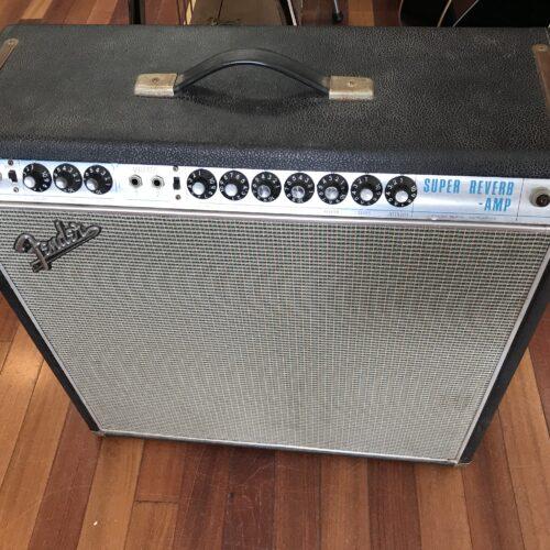 1968 Fender Super Reverb all original