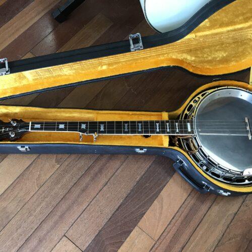 70s Aria 5 string banjo