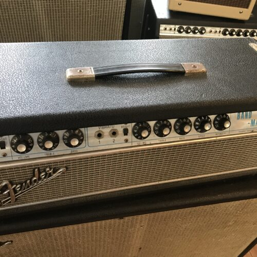 1967 Fender Bandmaster head drip edge