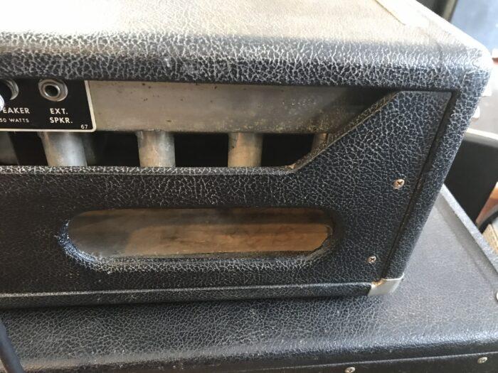 1965 Fender Electric Bassman head and cab all original