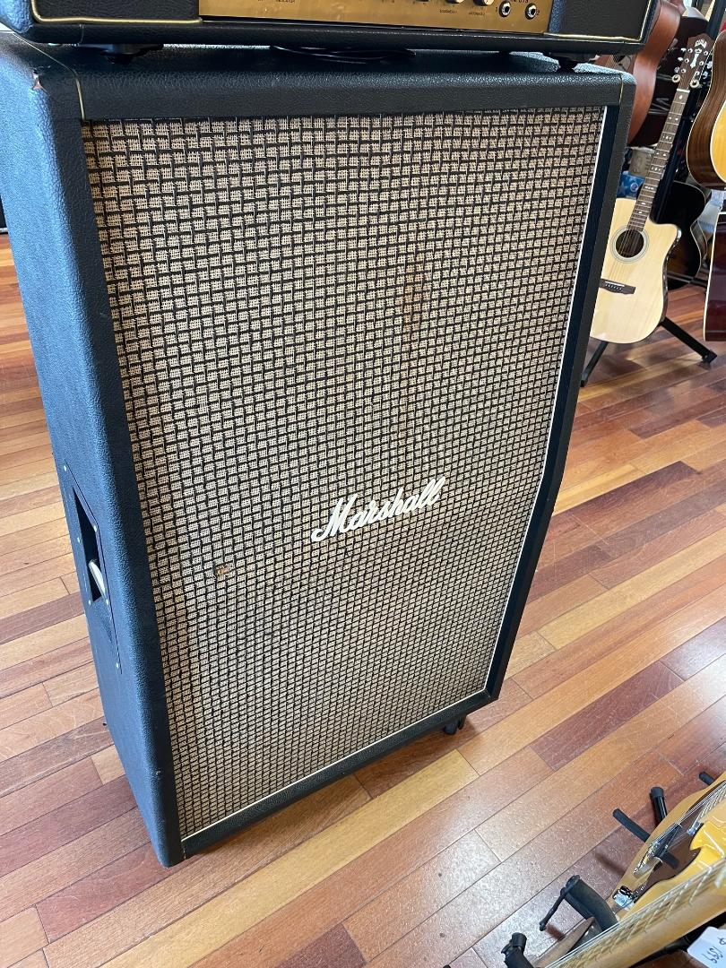 1971 Marshall 2034 8×10 cab G10 Greenbacks super clean