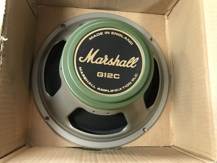 Marshall G12C Greenback set of 4 came from Hendrix cab