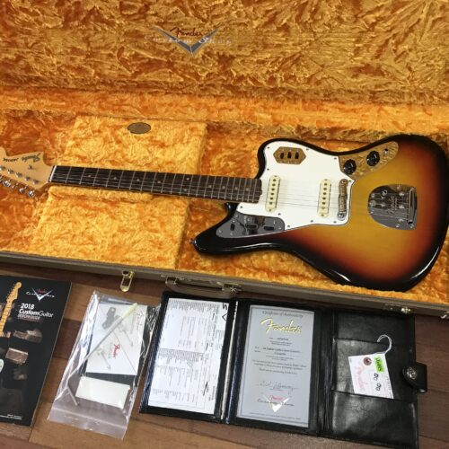 2019 Fender 64 reissue Custom Shop Jaguar light Closet Classic
