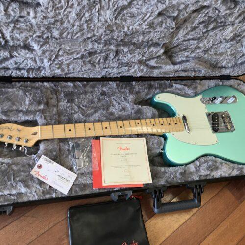 2017 Fender Telecaster Professional Mystic Seafoam