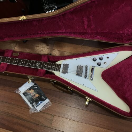 2014 Gibson Flying V 120th anniversary with neck binding