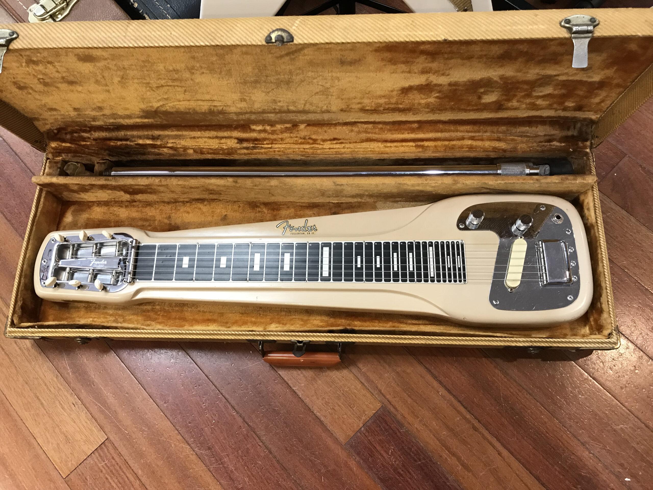 1957 Fender Studio Deluxe lap steel with legs