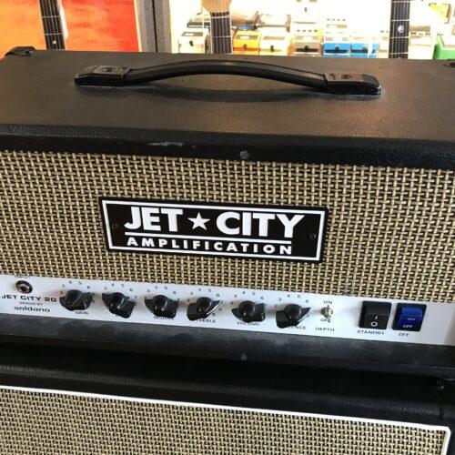 Jet City 20 HV and 2×12 245V cab