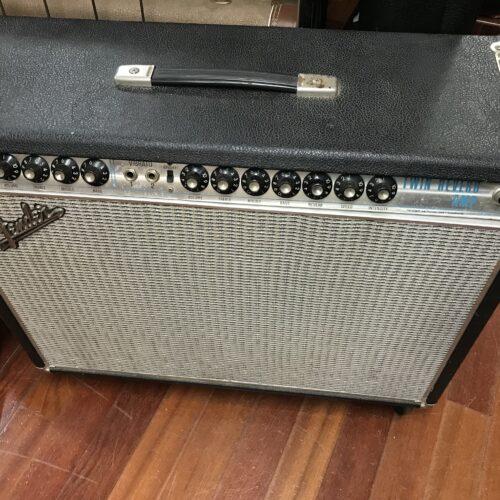 1969 Fender Twin Reverb Drip edge all original