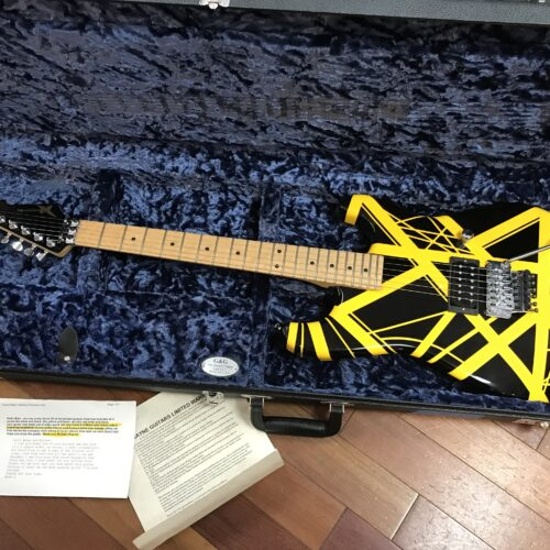 Wayne EVH Striped with matching headstock only 3 made